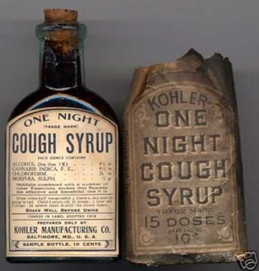 """One Night"" cough syrup: Jarabe para la tos (y no despertar nunca más)"