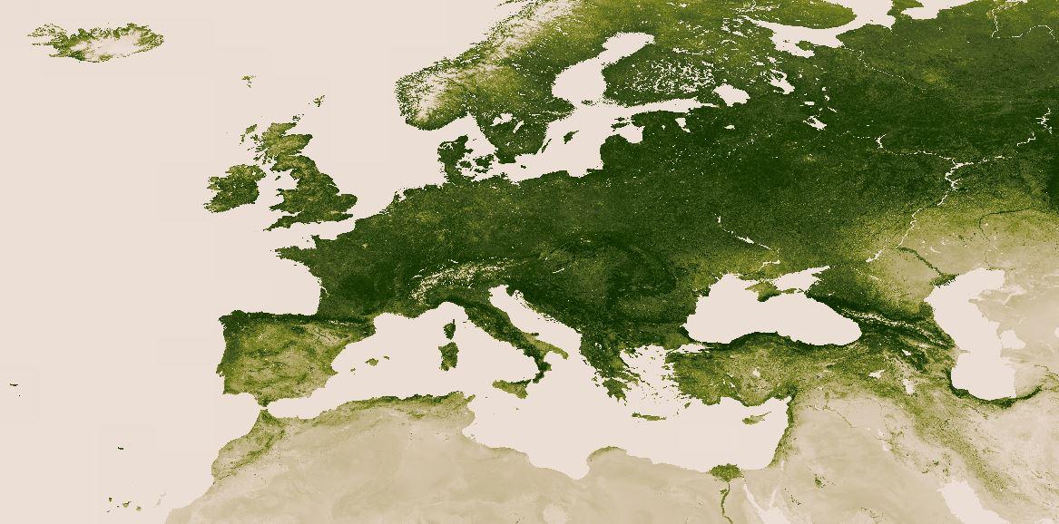 Mapa_verde_Europa