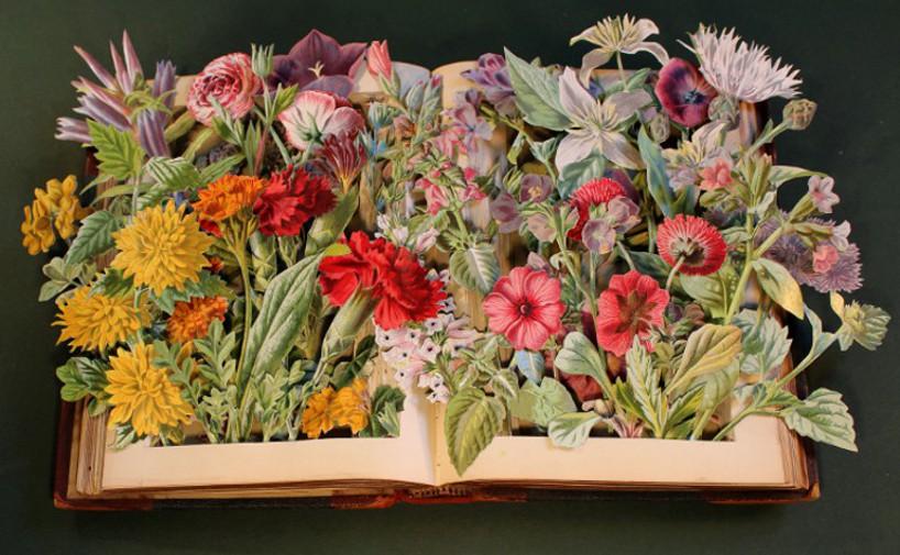 Kerry Miller: Libros 3d reciclando obras antiguas