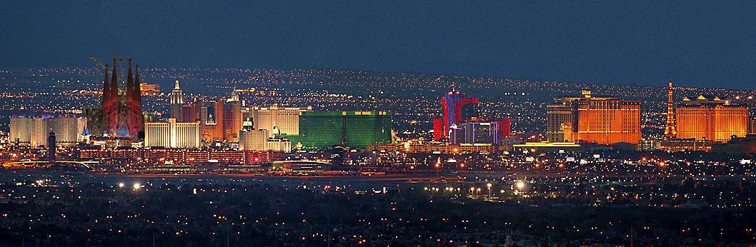 Las Vegas-Sagrada Familia