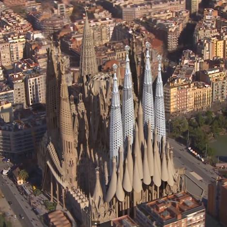 Las Vegas-Barcelona: La basílica de la Sagrada Familia