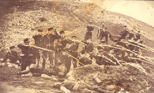 Carol Szathmari 1853 1856 Guerra de Crimea