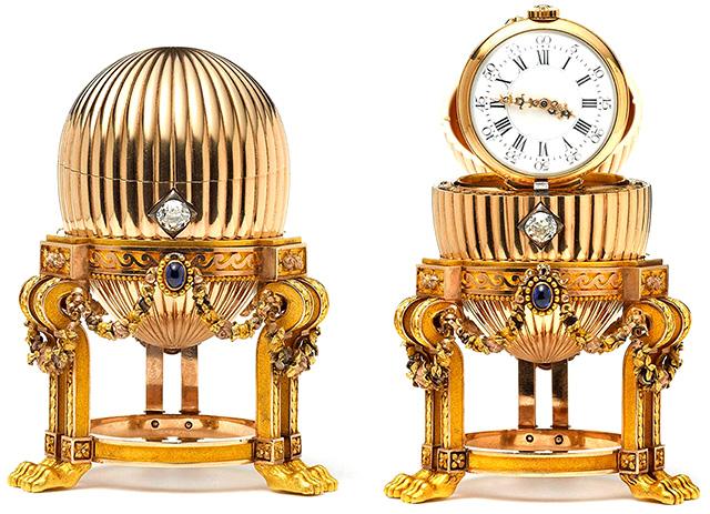 Un chatarrero de EE.UU. encuentra un huevo de Fabergé valorado en 20 millones de dólares