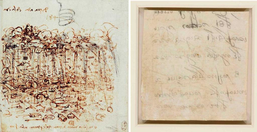 Lluvia de posesiones materiales  / Leonardo da Vinci