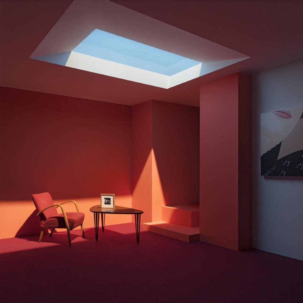 Coelux luz artificial habitacion