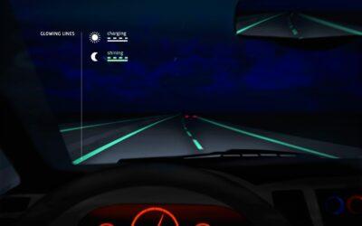 Smart Road / Holanda prueba su primera carretera que brilla en la oscuridad