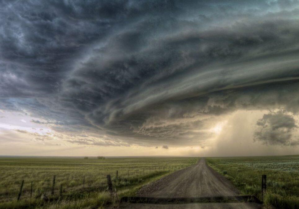 Fotografías de una tormenta: Imágenes de una supercélula