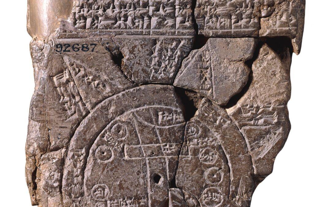 El mapa más antiguo del mundo