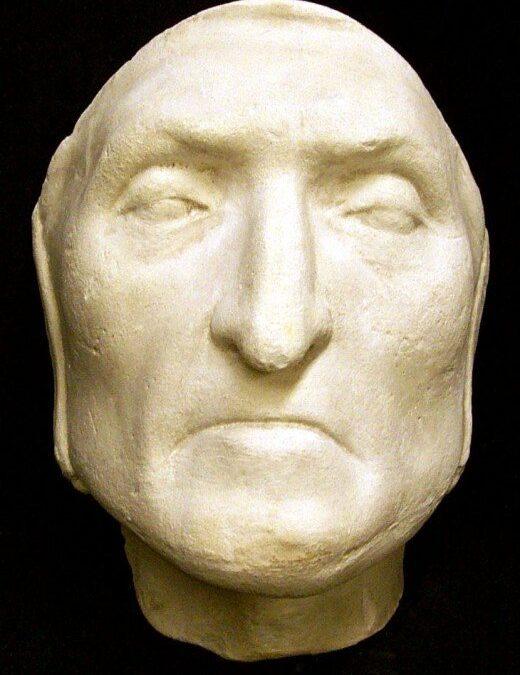 Máscaras mortuorias de personajes históricos