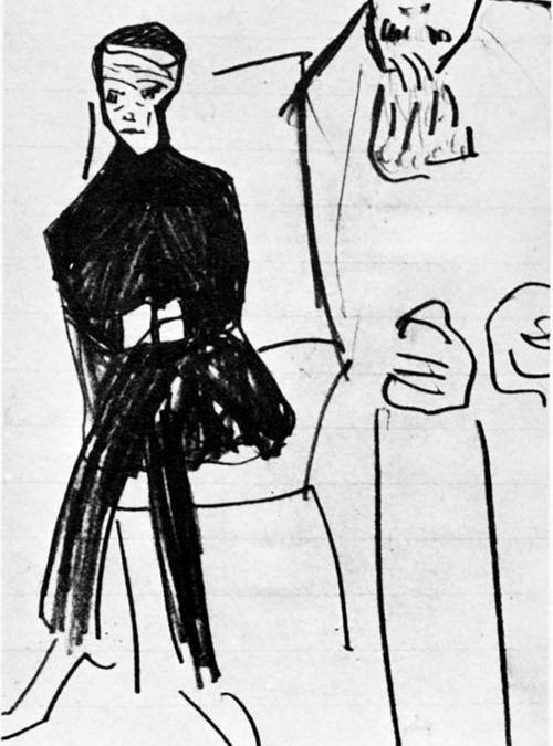 Franz Kafka / Dibujos