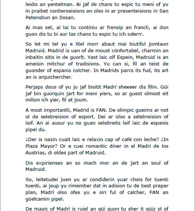 Filtrado el guión de la alcaldesa de Madrid Ana Botella ante el COI…