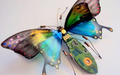 Julie Chappell |Esculturas de insectos con materiales reciclados