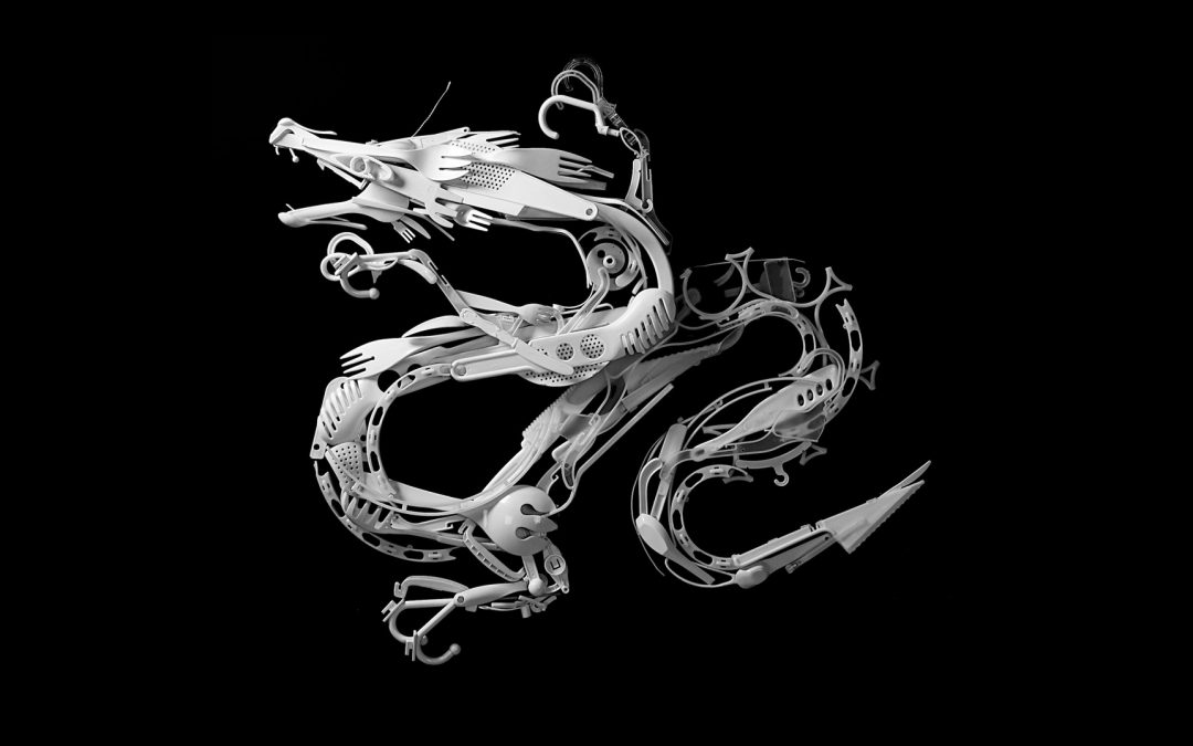 Sayaka Ganz / Esculturas de animales con objetos reciclados